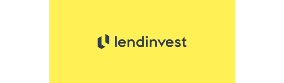 Lendinvest logo   slate on yellow